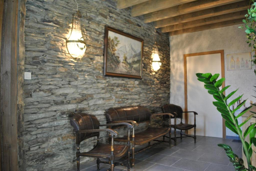 A seating area at B&B Oase