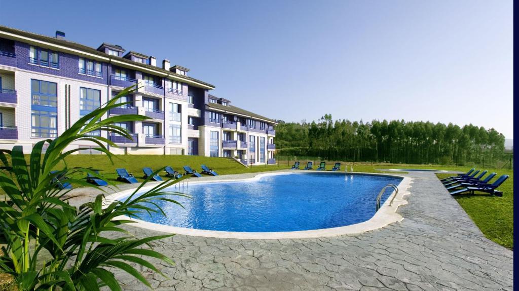 Piscina en o cerca de Apartamentos Dunas de Liencres