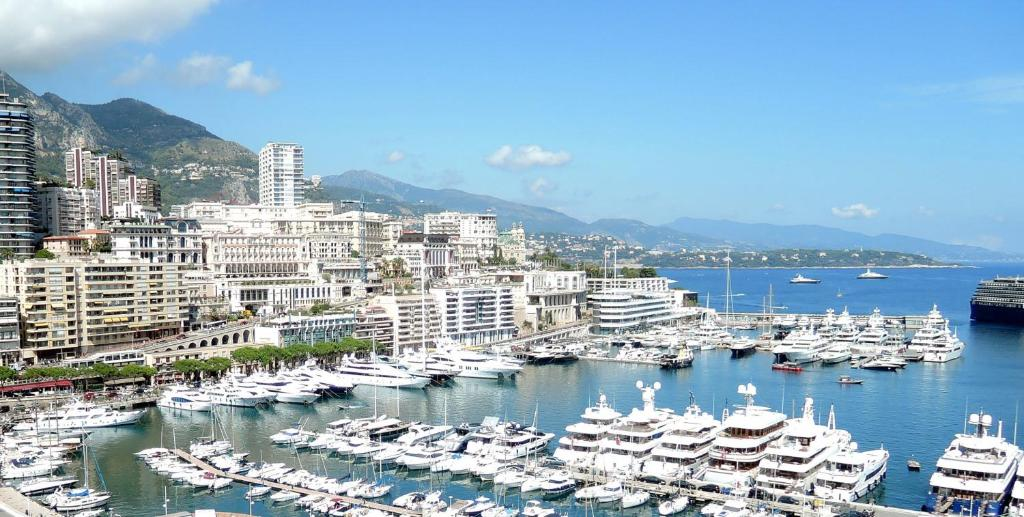 Ptičja perspektiva nastanitve Apartment Monte Carlo