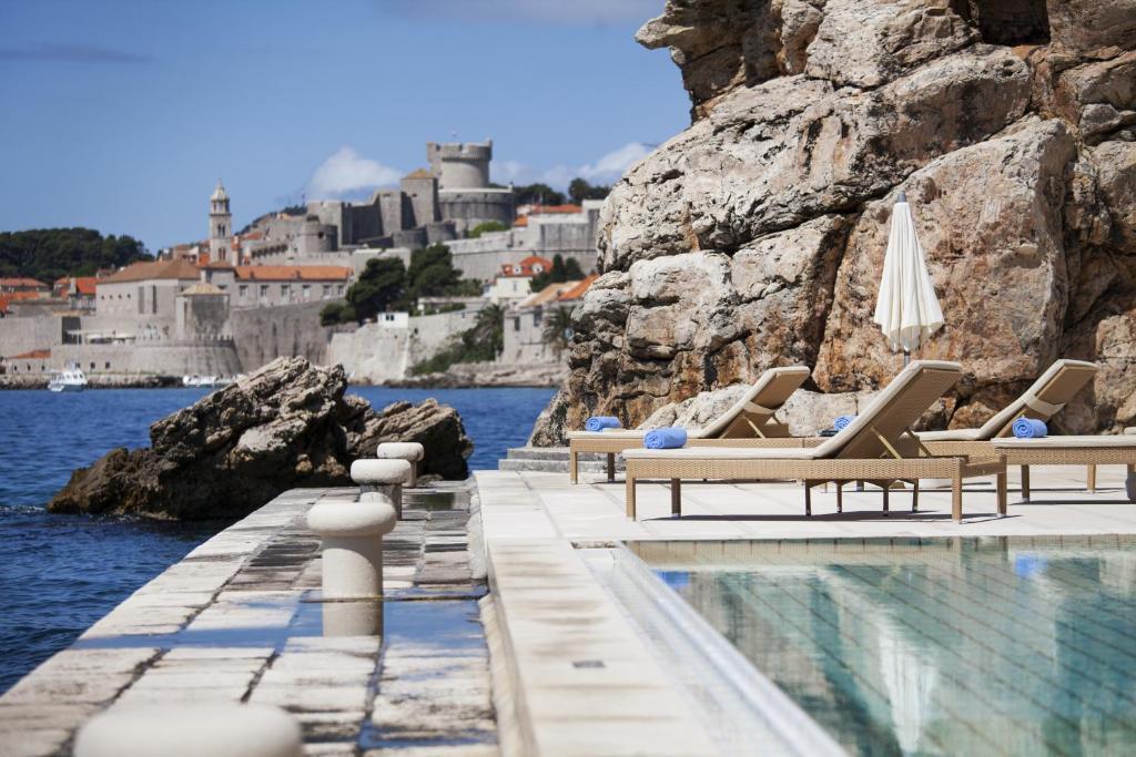 The swimming pool at or close to Villa Glavić