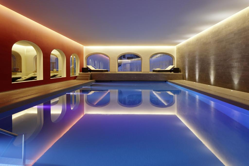 The swimming pool at or near Hotel Steffani