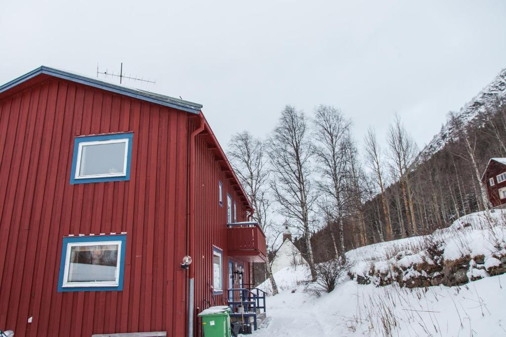 Prästgården i Funäsdalen during the winter