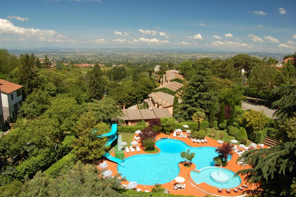 A bird's-eye view of Balletti Park Hotel