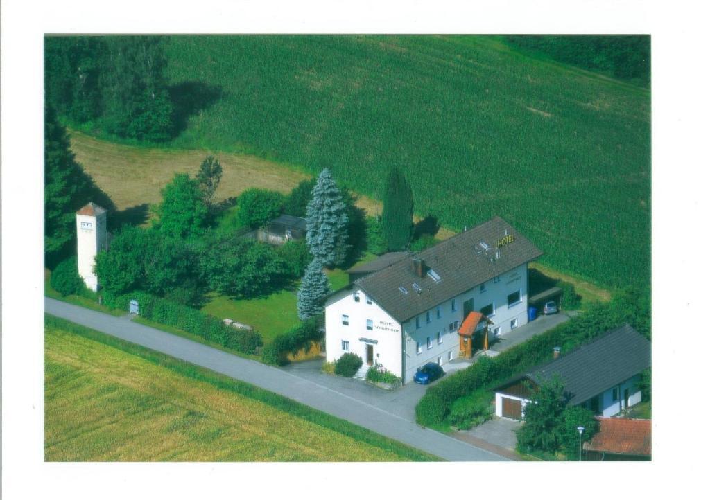 Hotel Sonnenhof с высоты птичьего полета