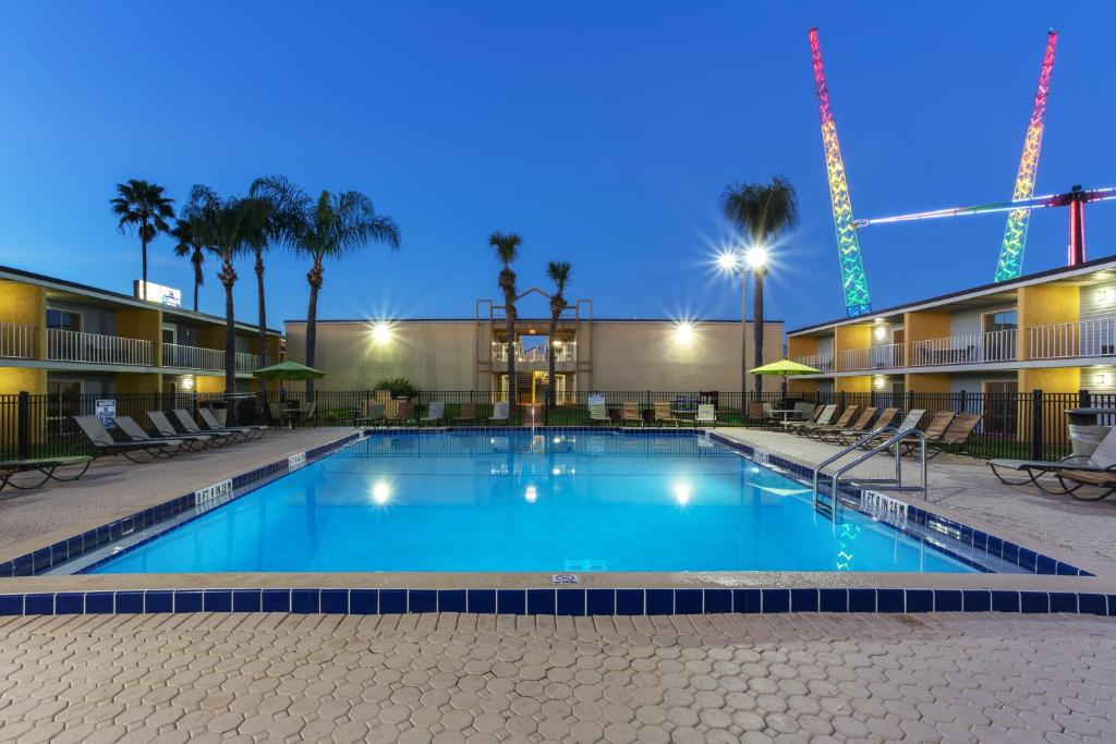 The swimming pool at or near Celebration Suites