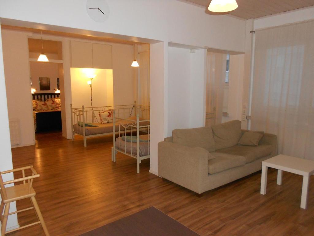 Oleskelutila majoituspaikassa Anne's City Apartment