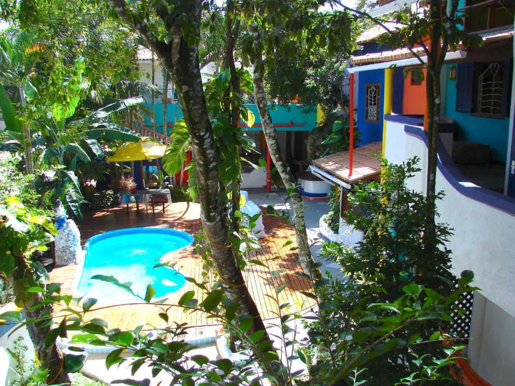 A view of the pool at Art Hotel Aos Sinos Dos Anjos or nearby