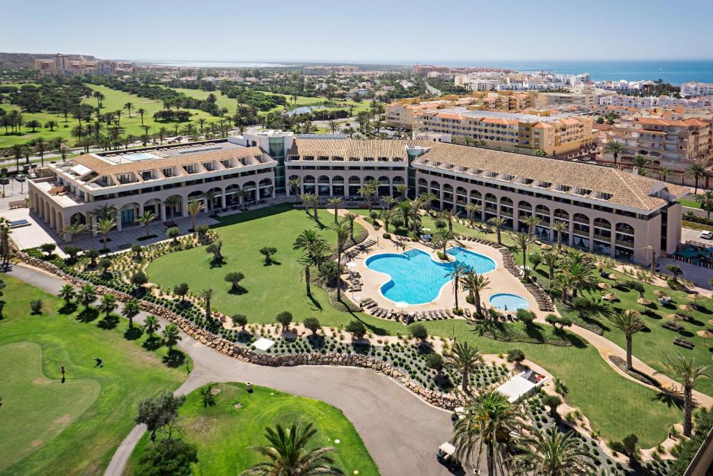 Hotel AR Golf Almerimar a vista de pájaro