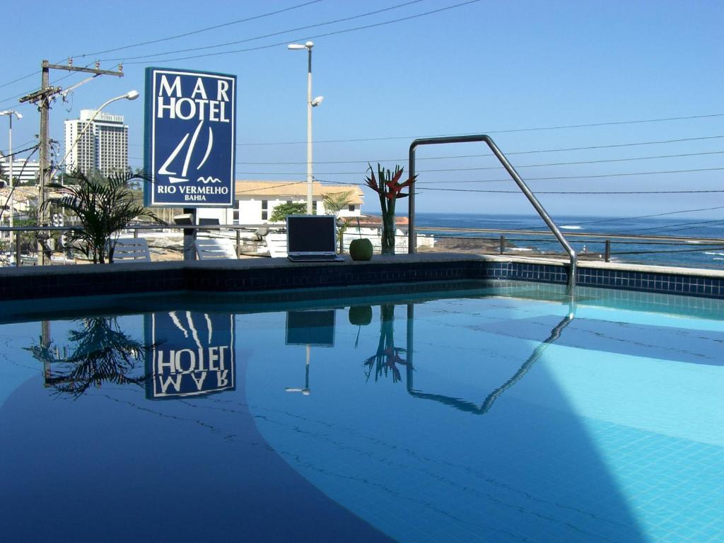 The swimming pool at or near Mar Hotel Rio Vermelho