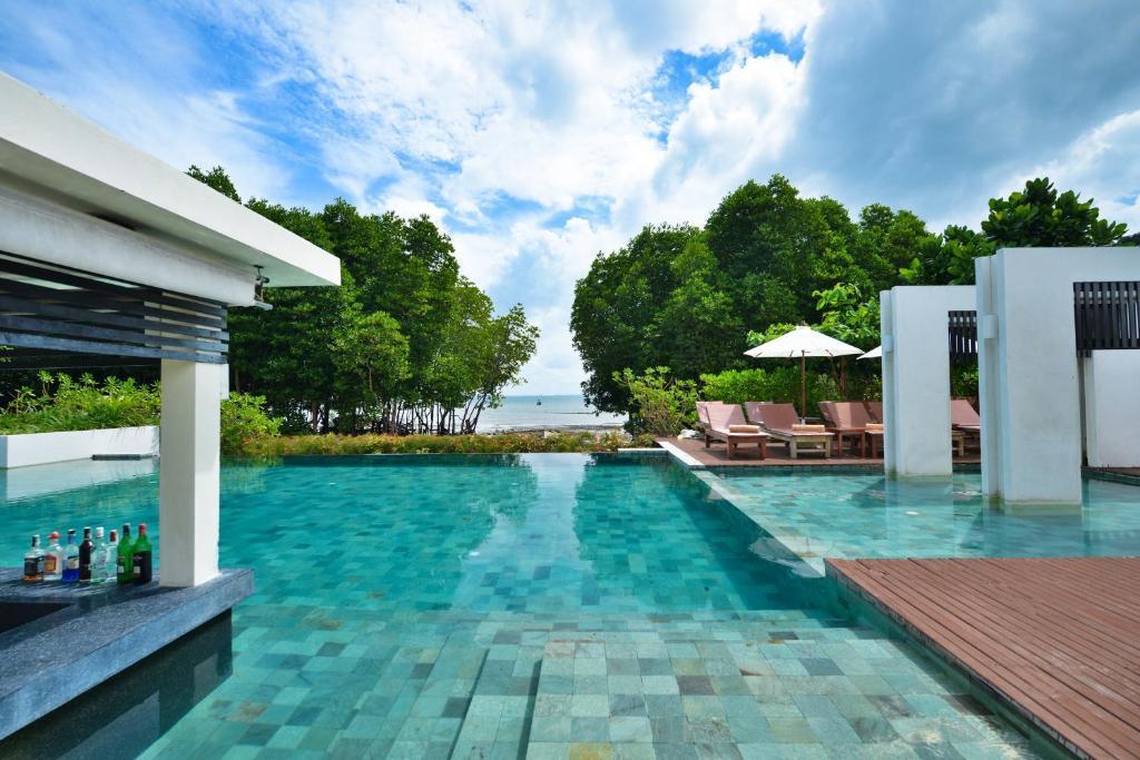 The swimming pool at or near Bhu Nga Thani Resort & Spa