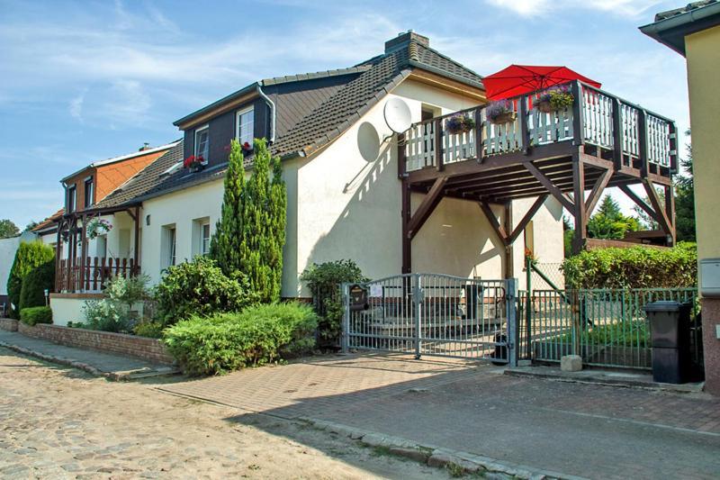 Ferienwohnung mit großem Balkon in Bömitz