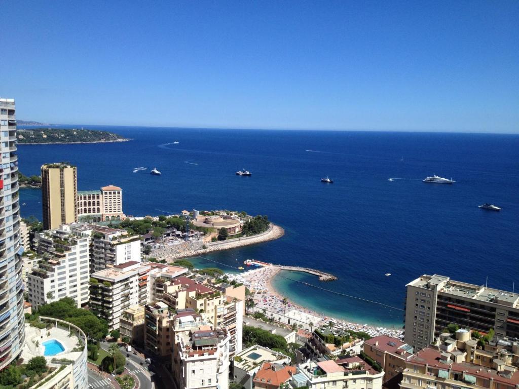 A bird's-eye view of Monte Carlo Center