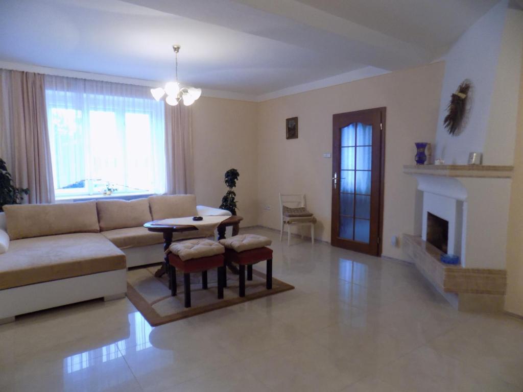 Posezení v ubytování Penzion Marjánka