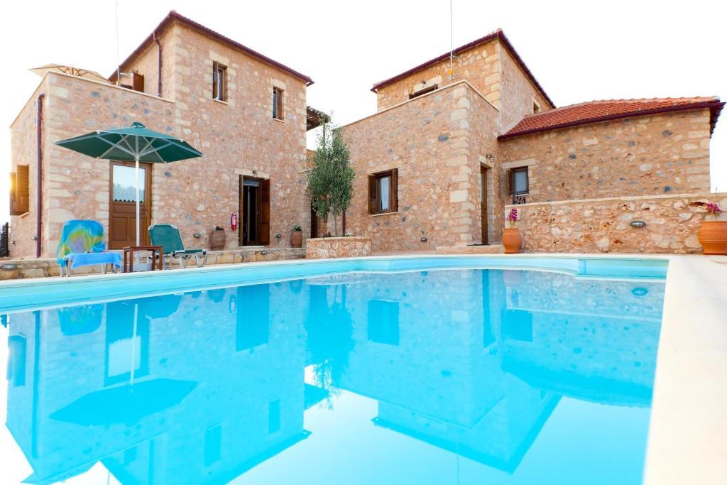 The swimming pool at or close to Xatheri Villas