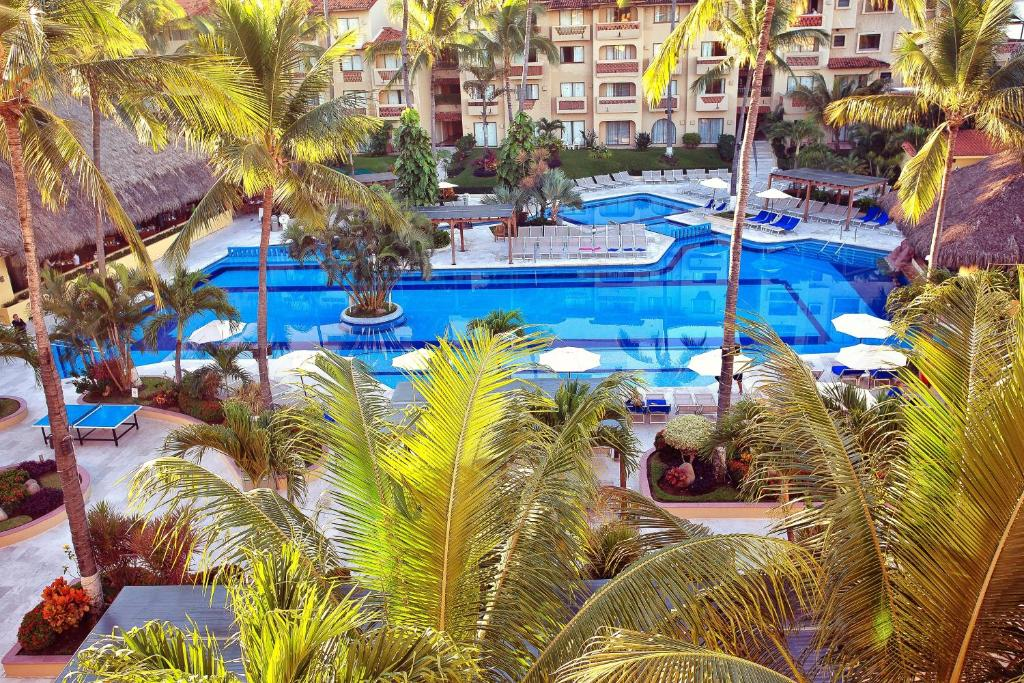 A view of the pool at Canto del Sol Puerto Vallarta All Inclusive or nearby