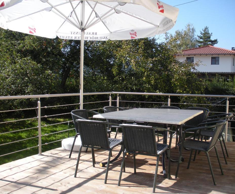 A balcony or terrace at Easyapartments Countryside