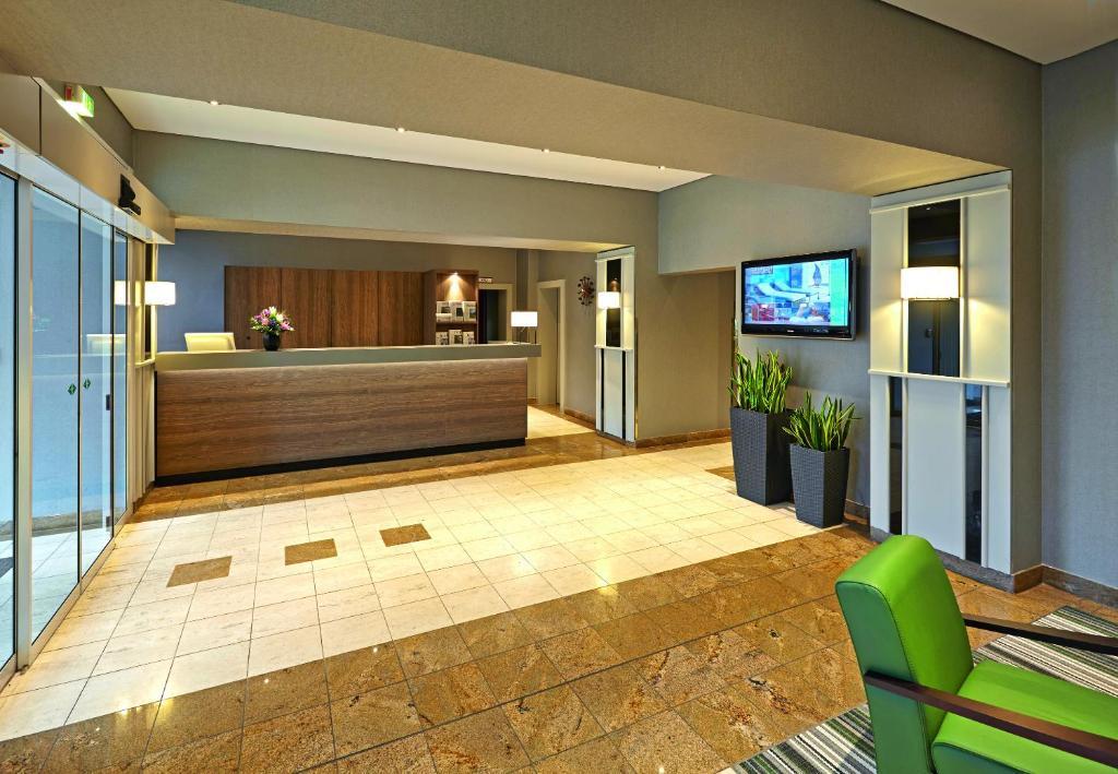 Lobby/Rezeption in der Unterkunft Seaside Residenz Hotel