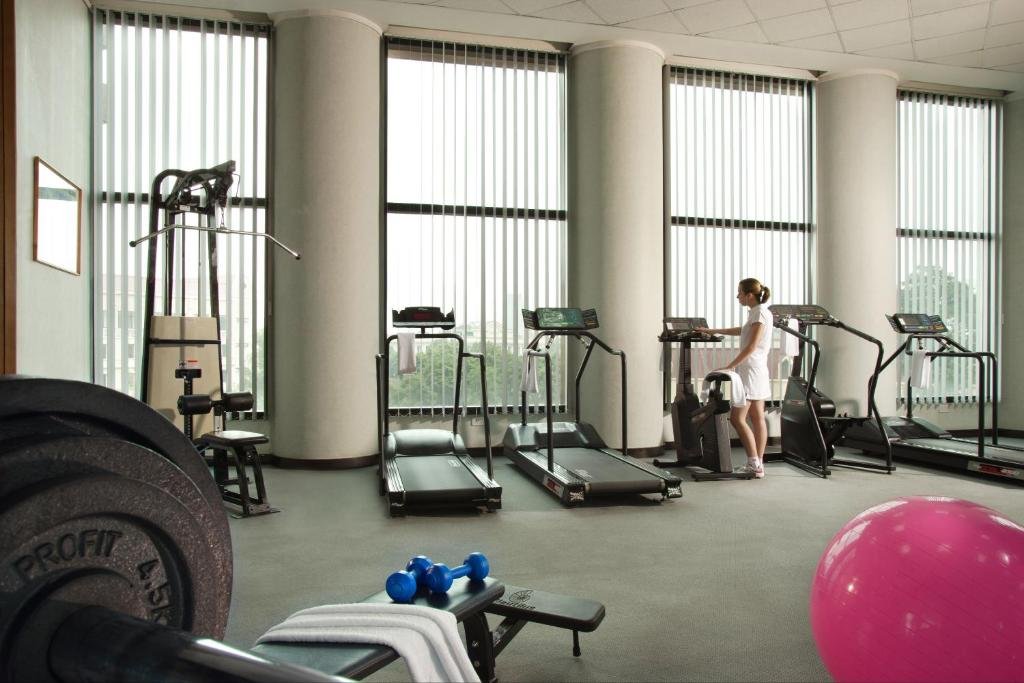The fitness center and/or fitness facilities at Somerset Grand Hanoi