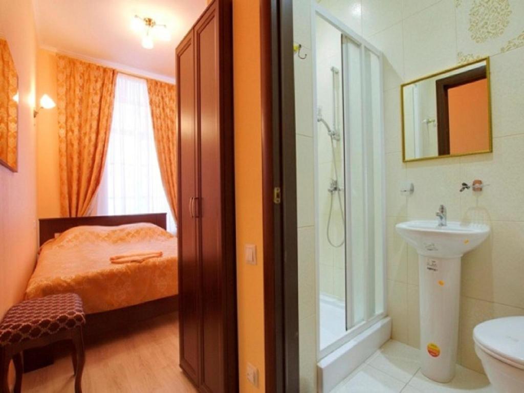 Ванная комната в Fontanka 38