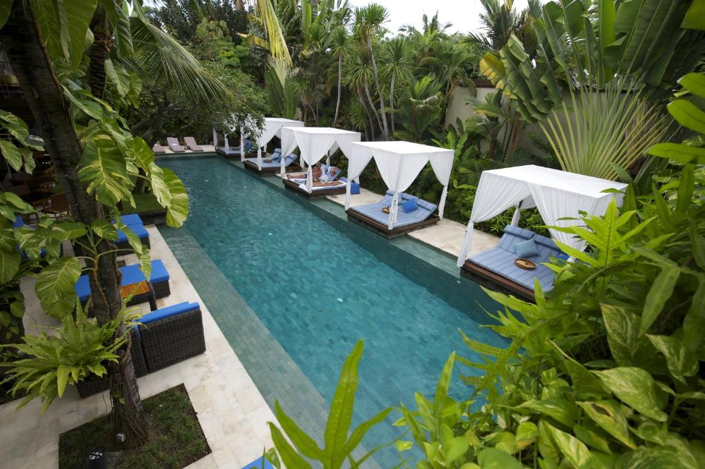 A view of the pool at The Elysian Boutique Villa Hotel or nearby