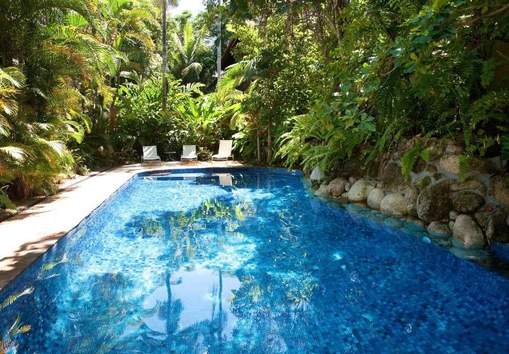 The swimming pool at or near Coral Sea Villas