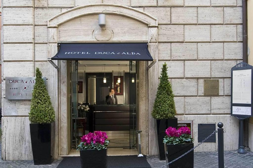 The facade or entrance of Duca d'Alba Hotel - Chateaux & Hotels Collection