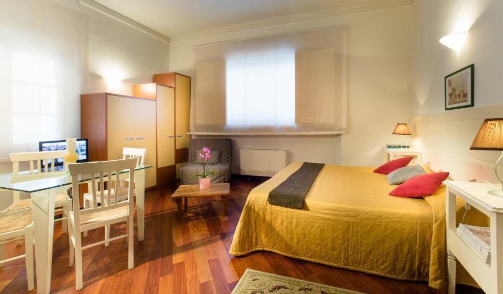 Una habitación en Residence San Niccolò
