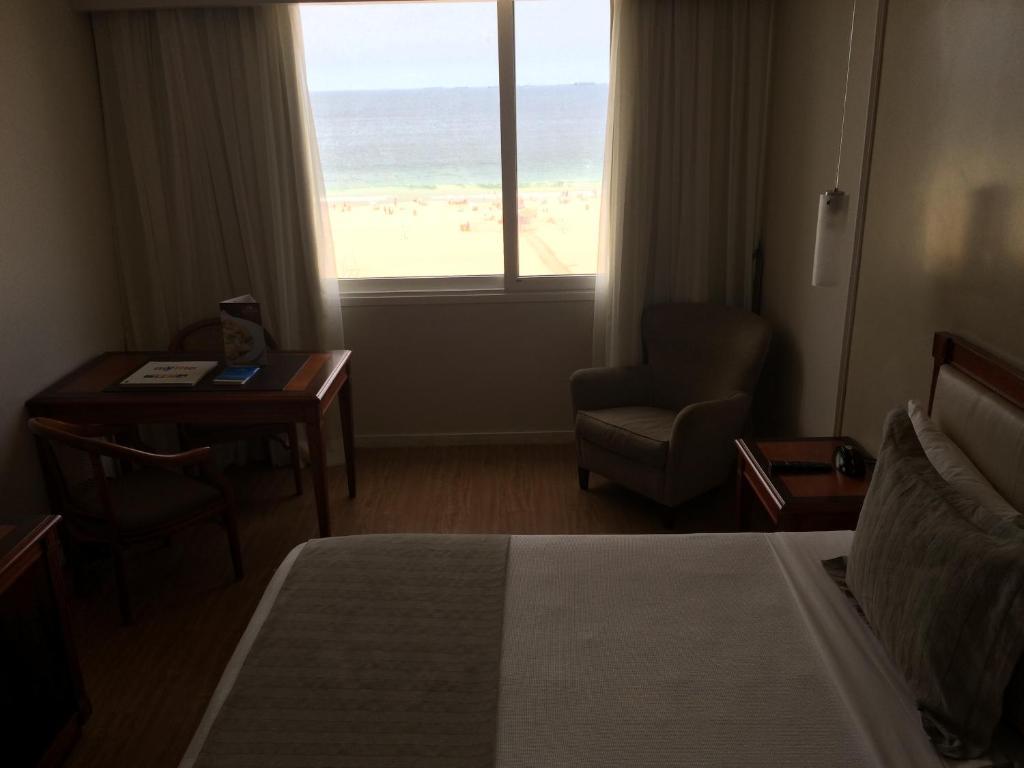 A seating area at Olinda Rio Hotel