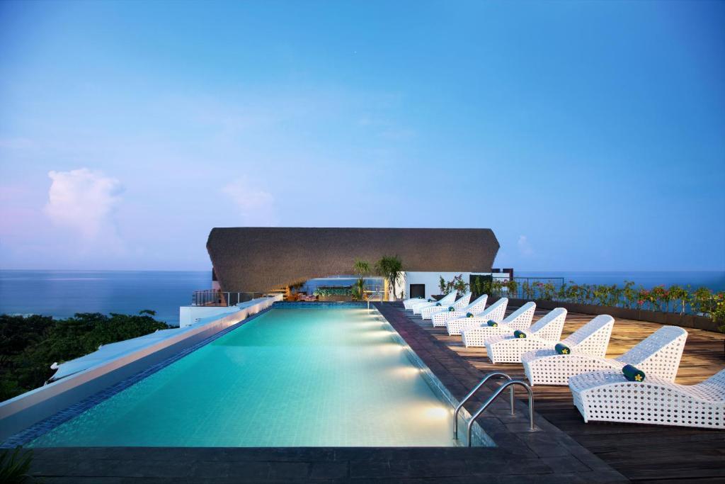 The swimming pool at or near Citadines Kuta Beach Bali