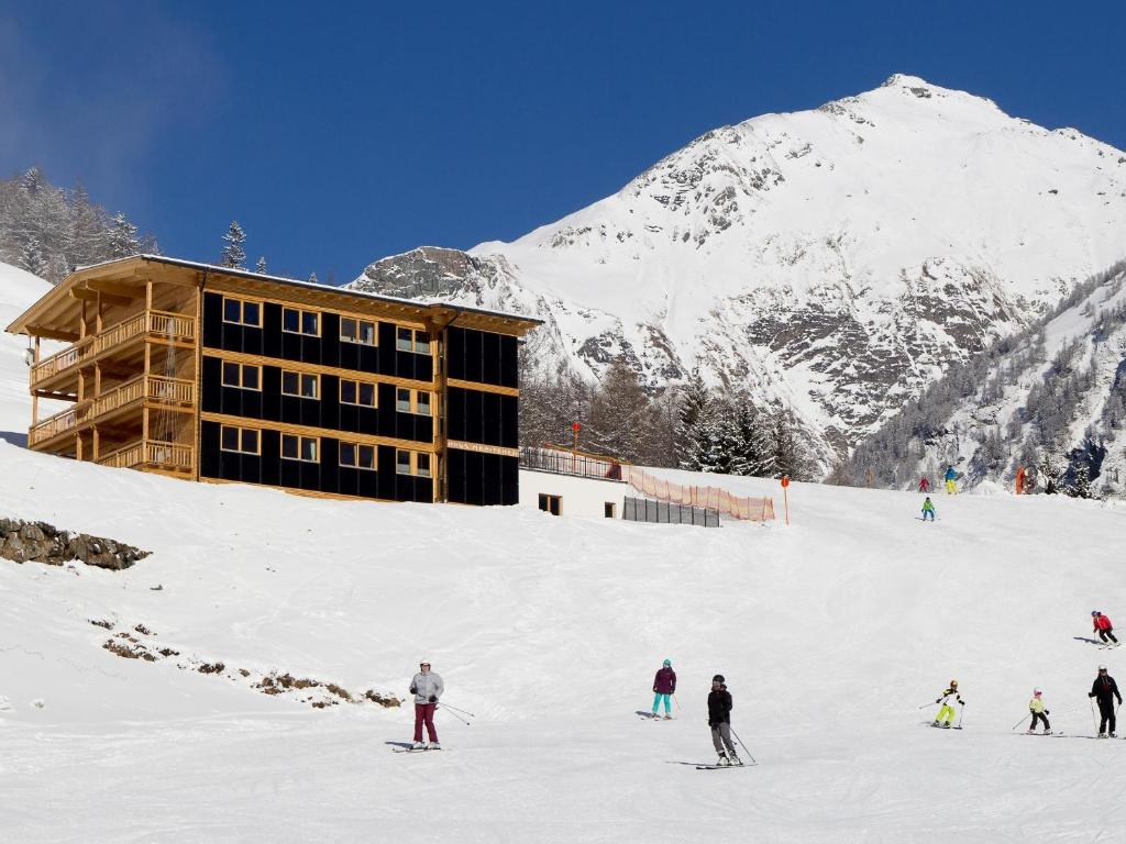 Skiing at the apartment or nearby
