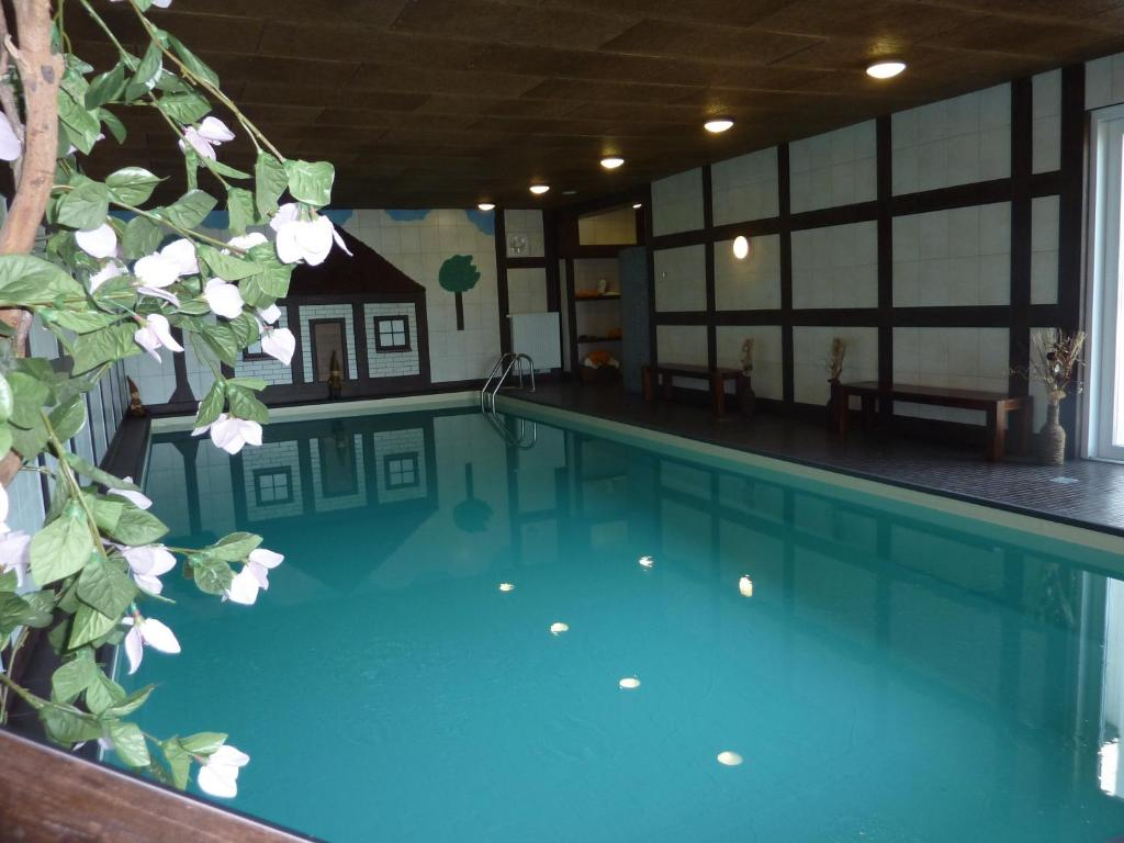 The swimming pool at or near Hotel Wernerwald