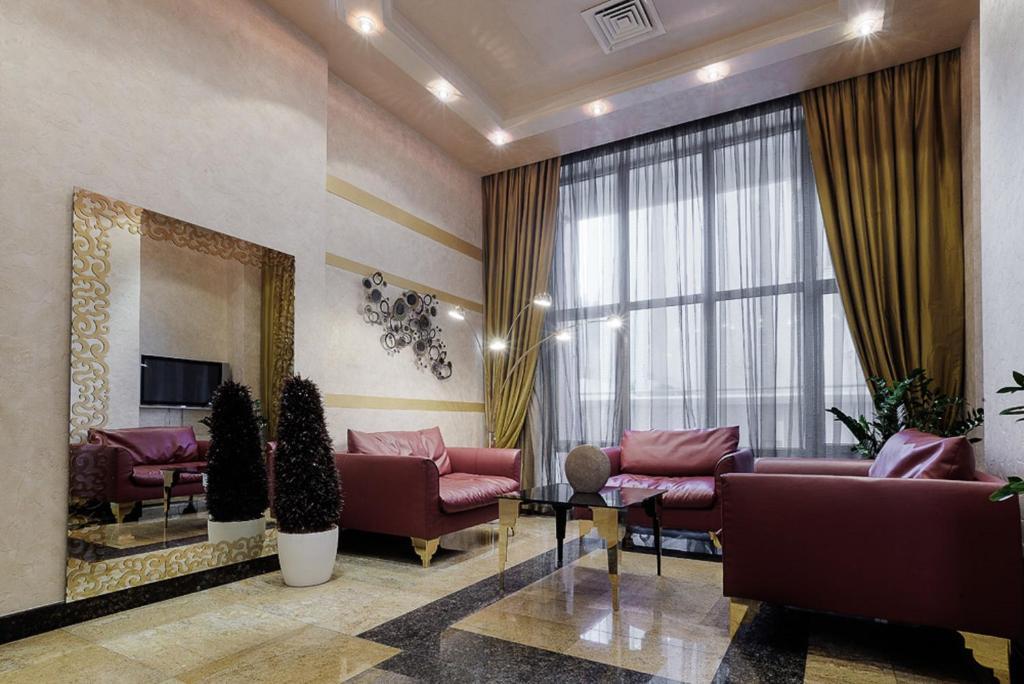 Гостиная зона в АС Отель