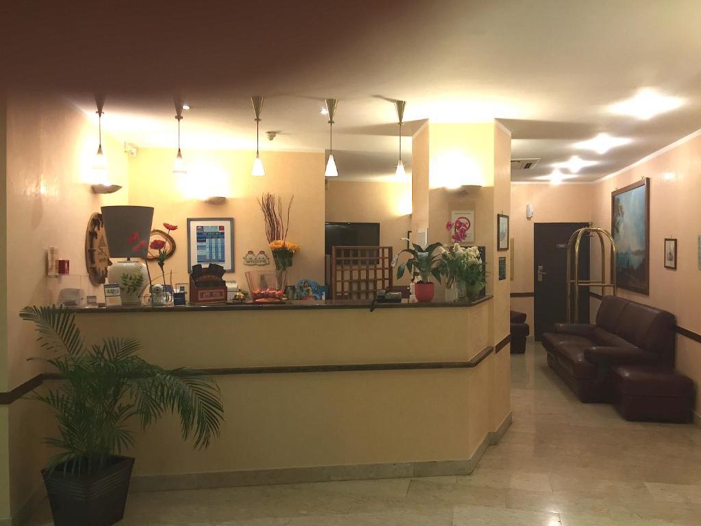 Hall ou réception de l'établissement Hôtel Vesuvio