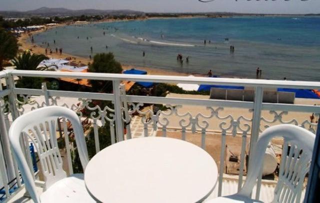 A balcony or terrace at Studios Naxos