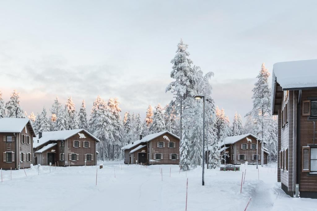 Holiday Village Gulo Gulo during the winter