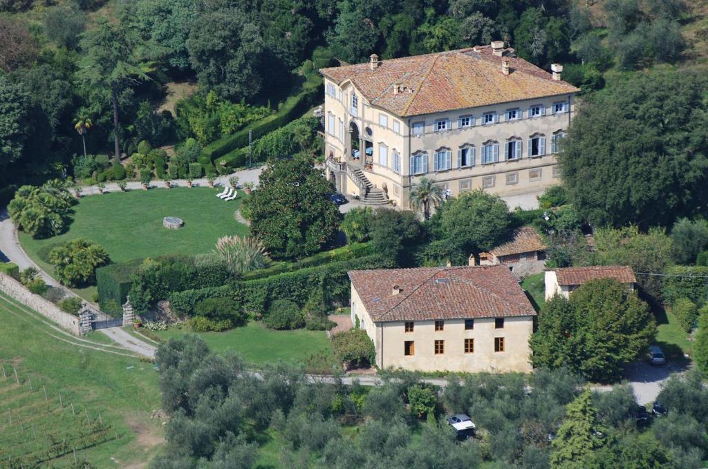 Een luchtfoto van Azienda Agricola Fabbrica Di San Martino