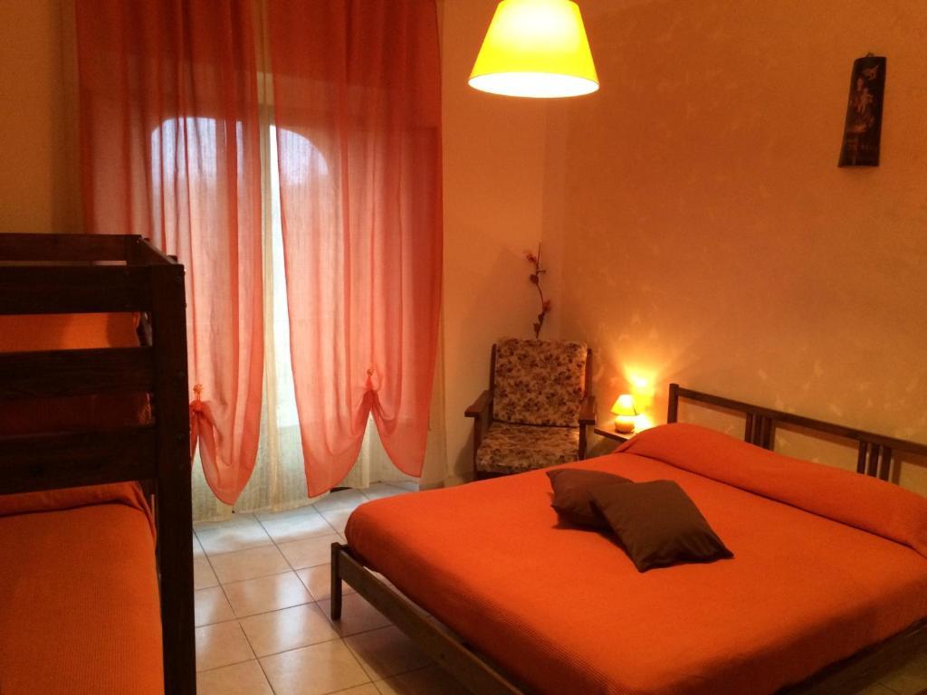 Letto o letti in una camera di B&B Al Cuore Del Borgo