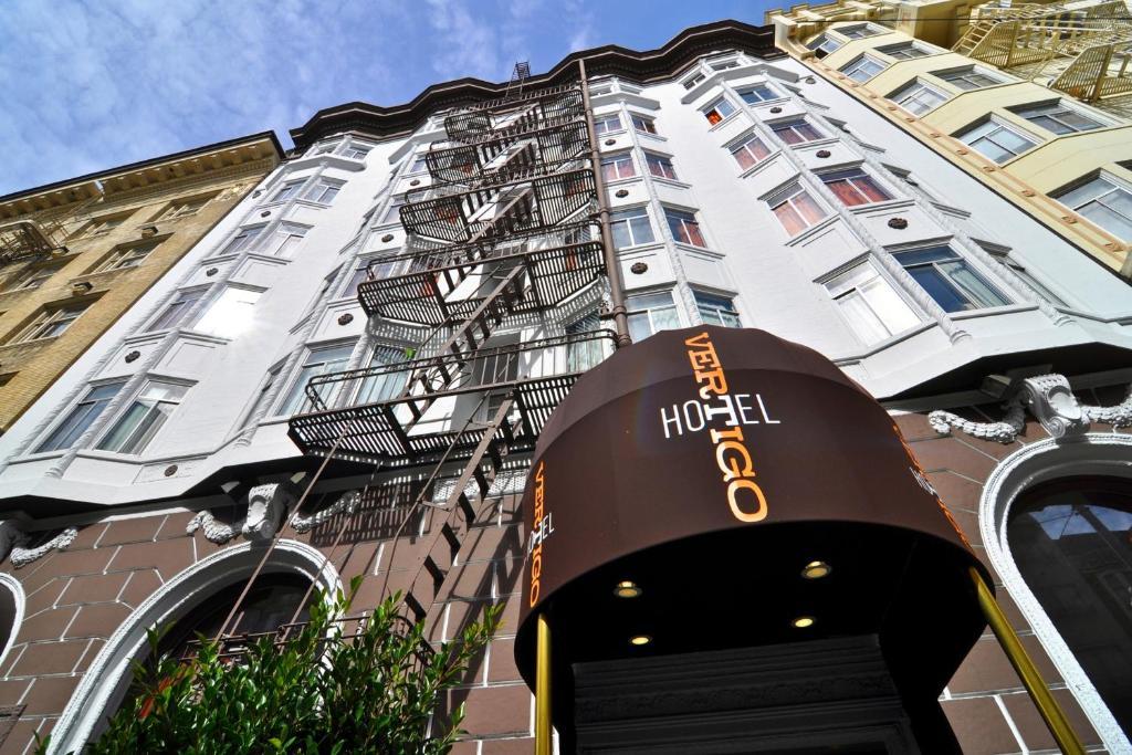 The Hotel Vertigo San Francisco.