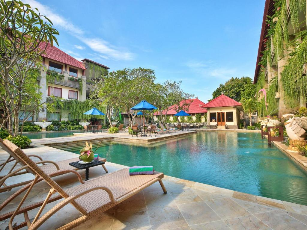 The swimming pool at or near The Grand Bali Nusa Dua