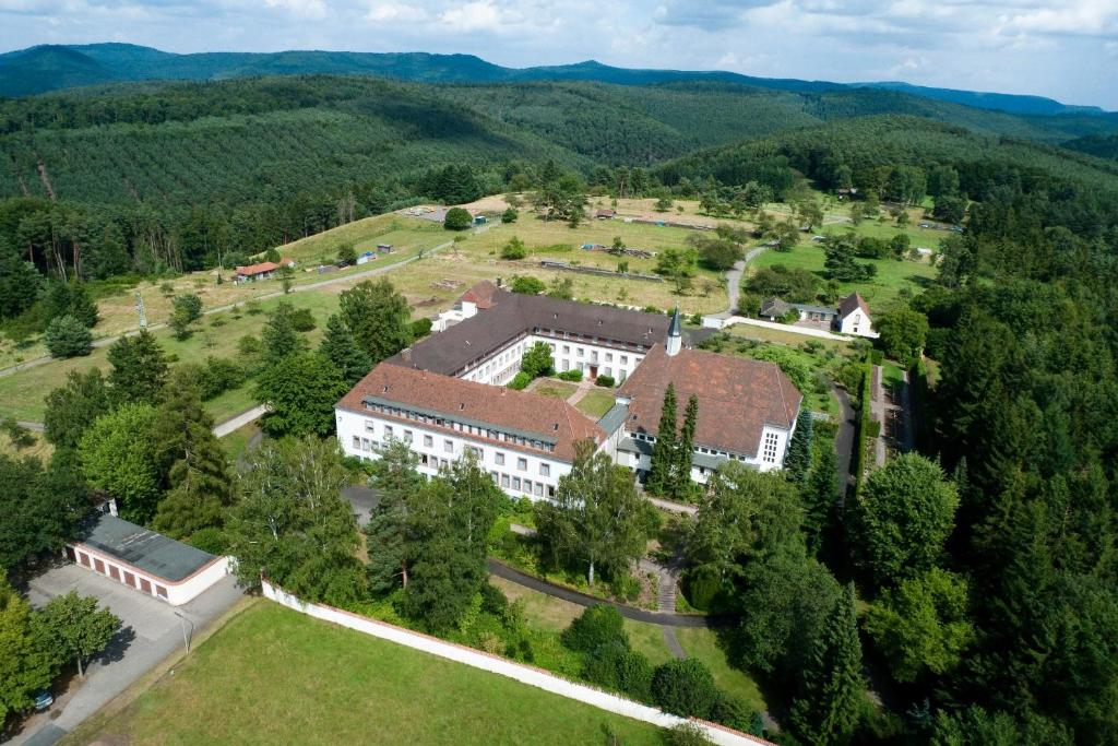 A bird's-eye view of Kloster Esthal