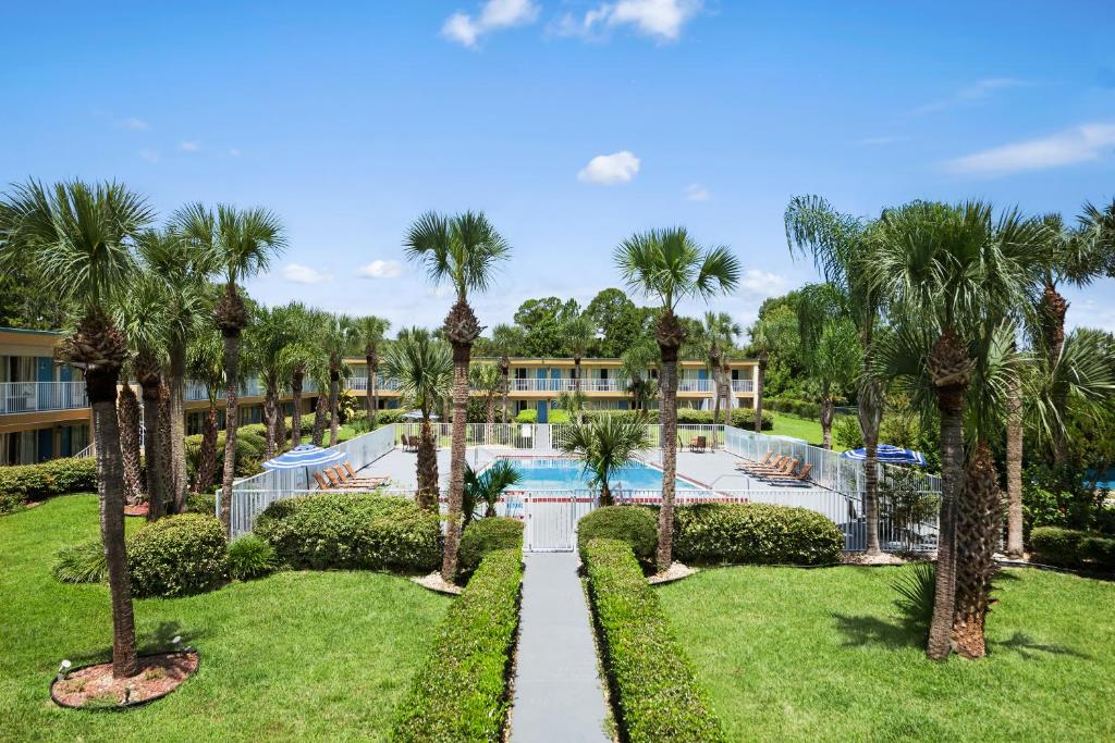 The swimming pool at or near Days Inn by Wyndham Daytona Beach Speedway
