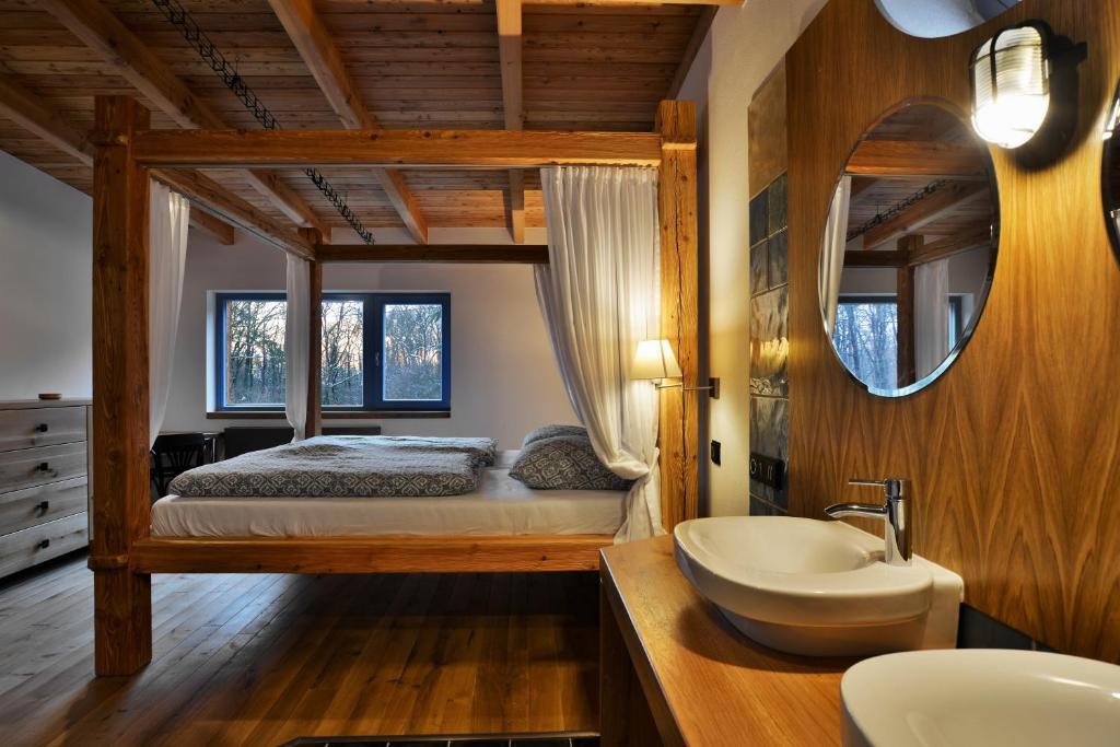 A bathroom at Farma Noe