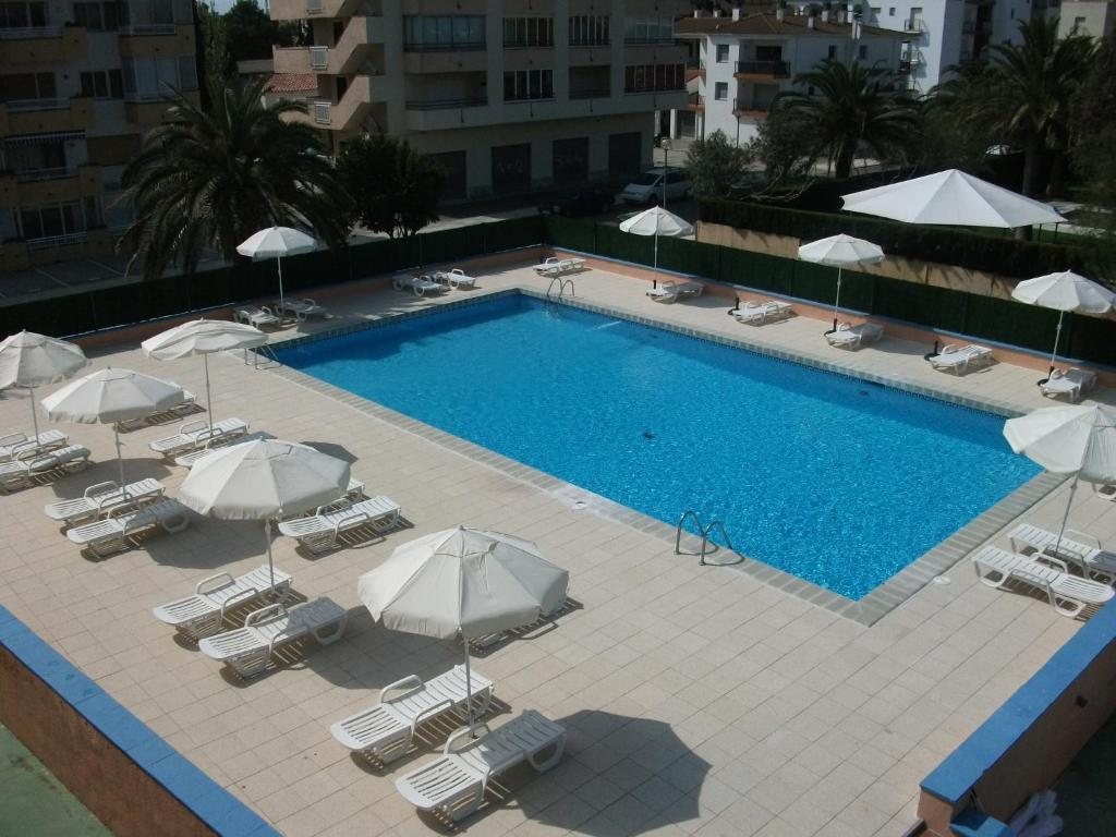 A view of the pool at Nautilus Hotel or nearby