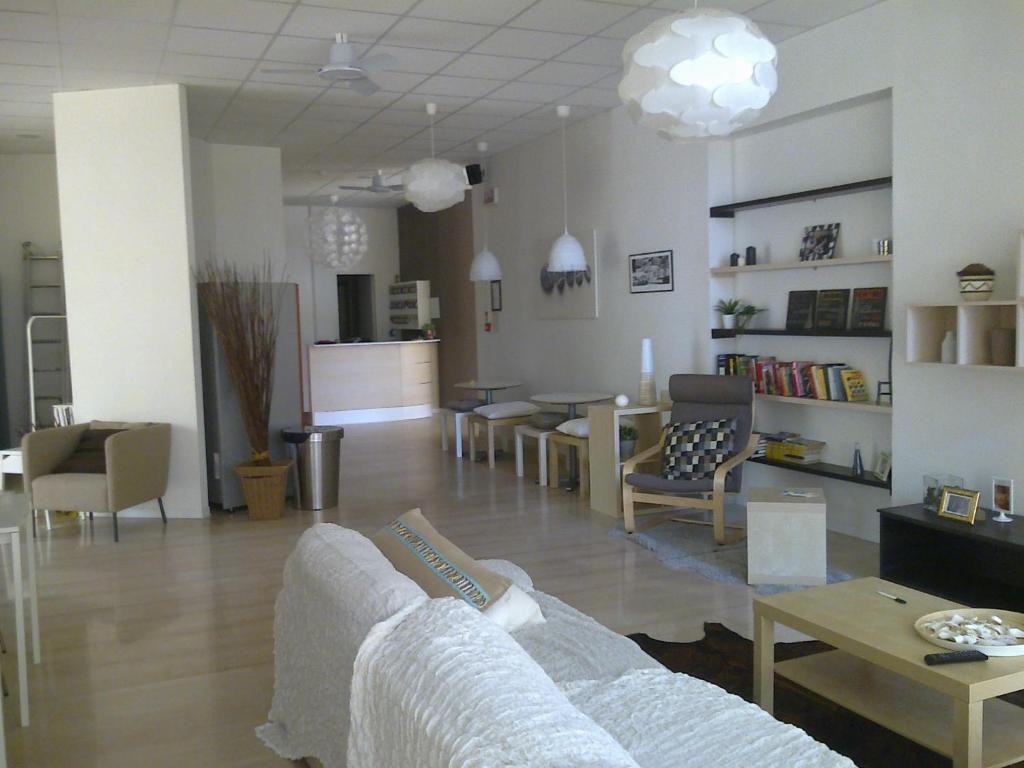 Area soggiorno di Hotel Augustus