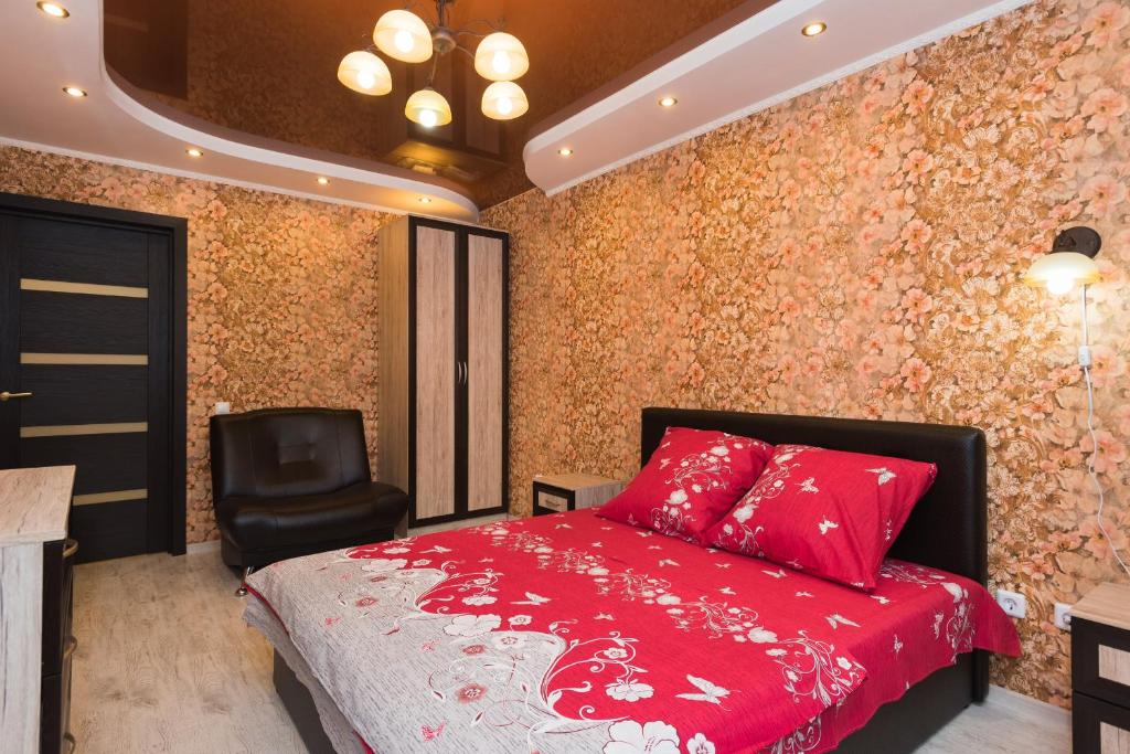 A bed or beds in a room at Apartment Il'icha
