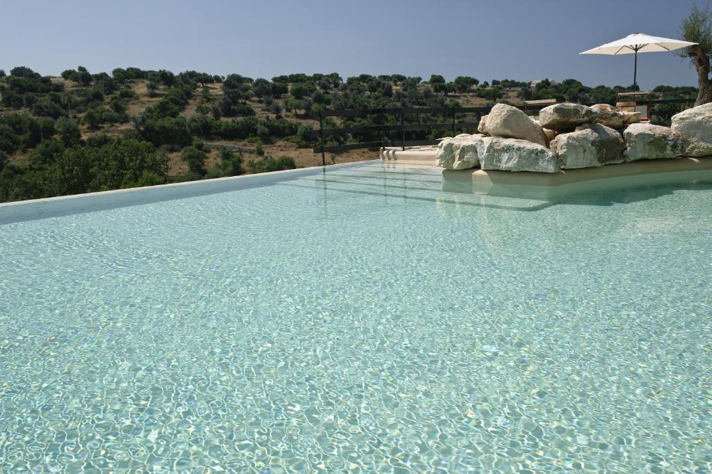 The swimming pool at or near Relais Parco Cavalonga