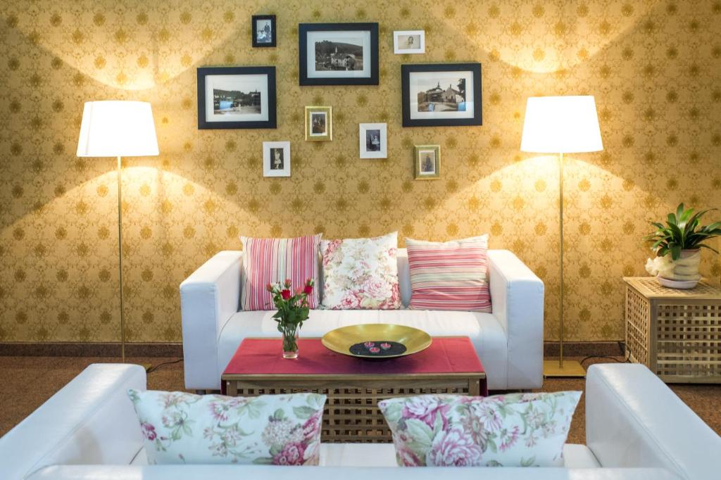 Posezení v ubytování ROMANTIK HOTEL ELEONORA