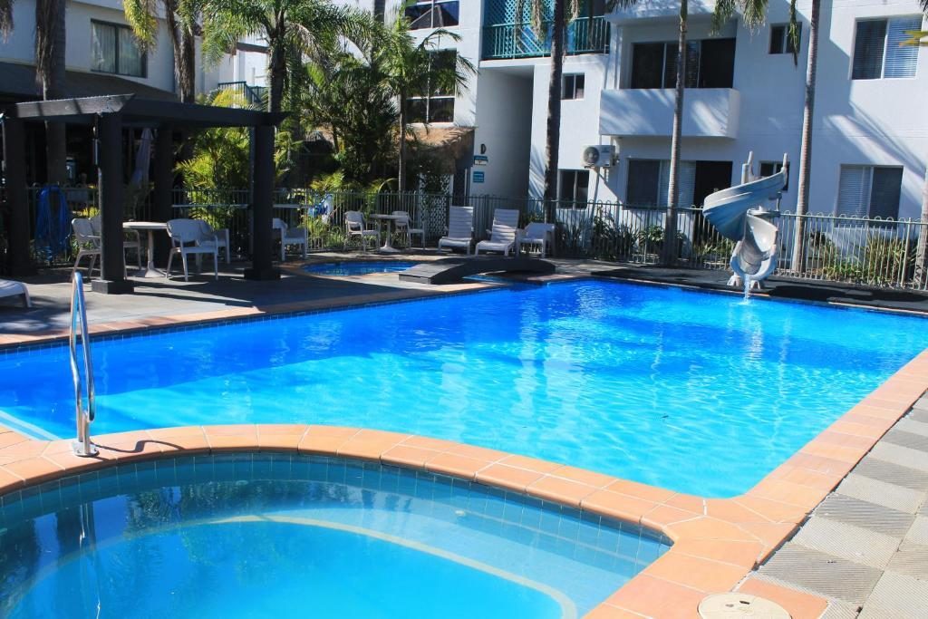The swimming pool at or near Oceanside Hawks Nest