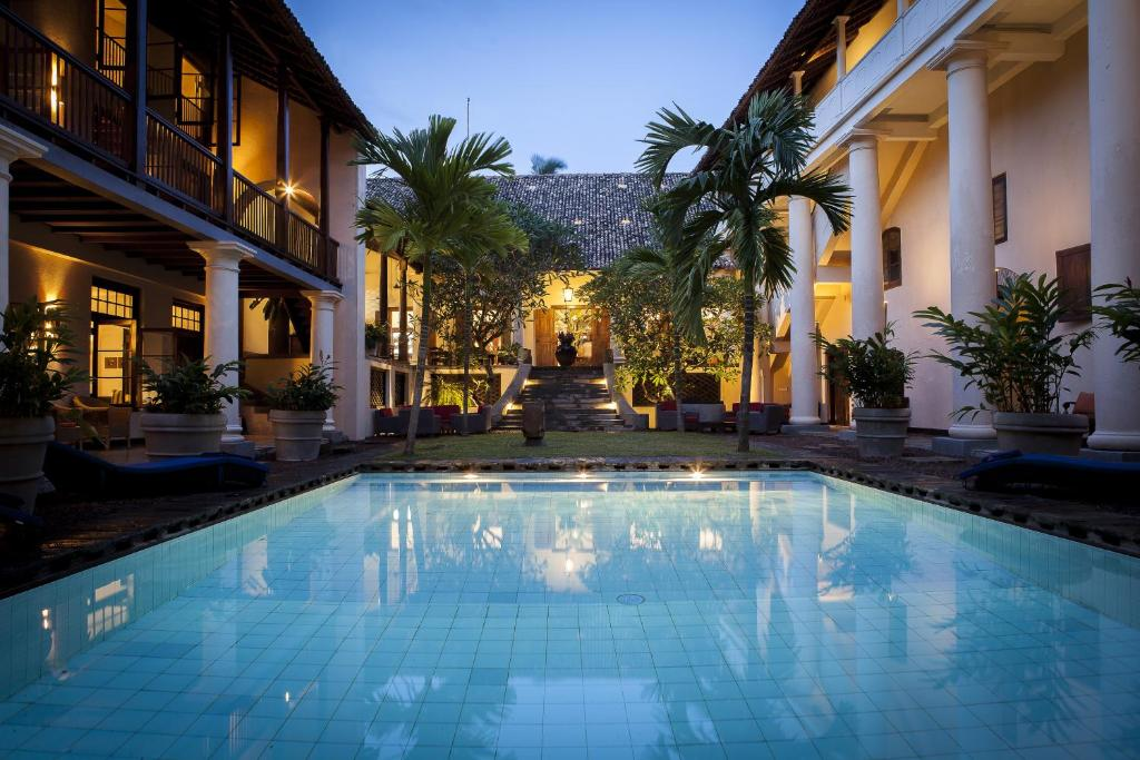 The swimming pool at or near The Galle Fort Hotel