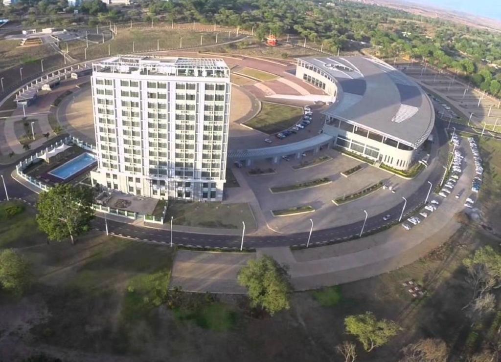 A bird's-eye view of President Hotel at Umodzi Park